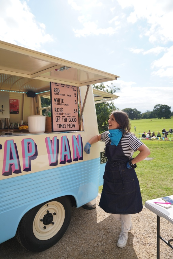 The Wine Tap Van Mobile Wine Bar