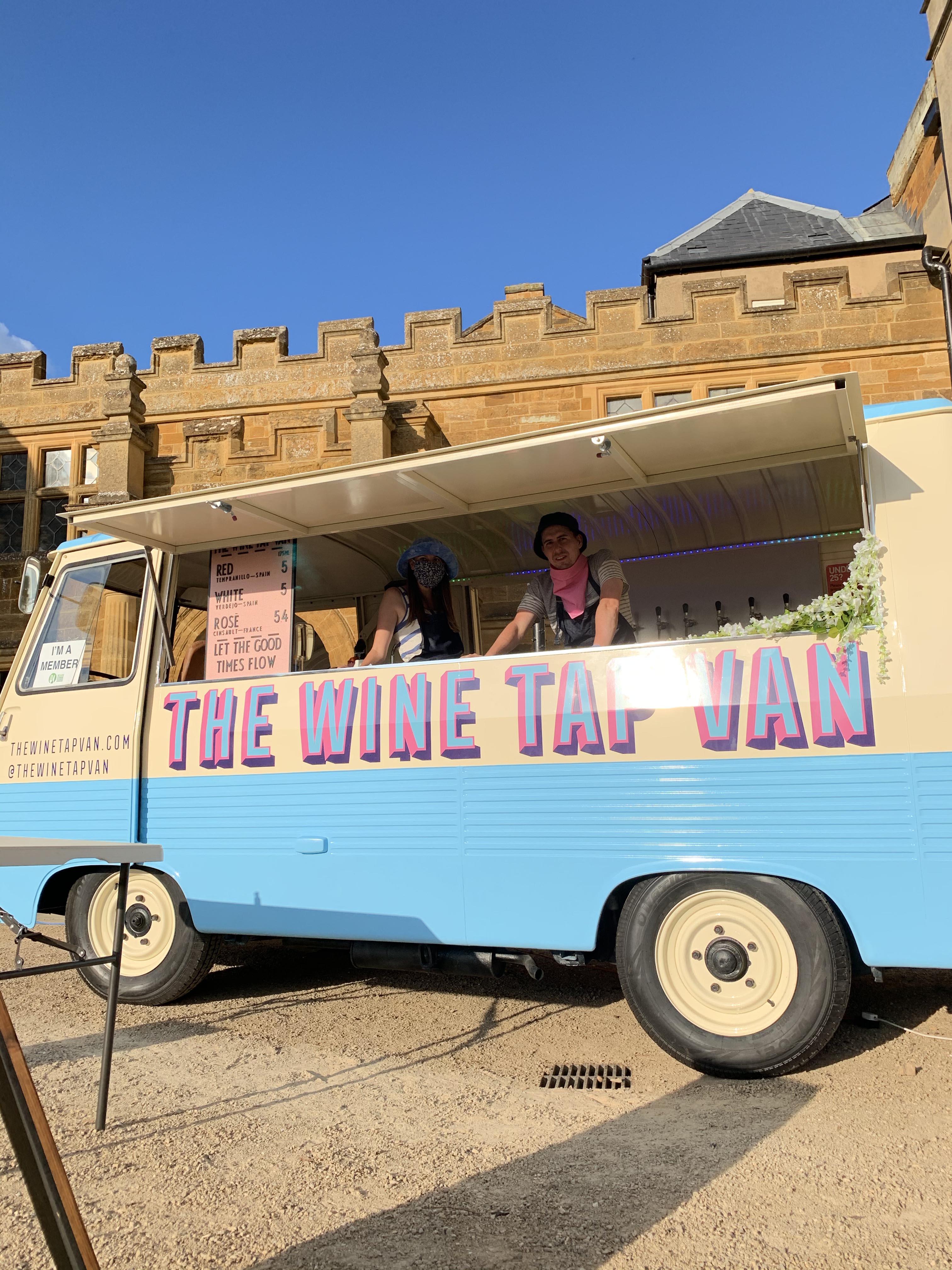 The Wine Tap Van Mobile Bar